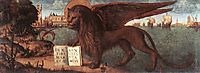 The Lion of St. Mark, 1516, carpaccio