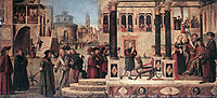 The Miracle of St. Tryphonius, 1507, carpaccio