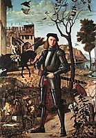 Portrait of a Knight, 1510, carpaccio