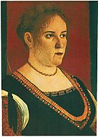 Portrait of a lady, c.1495, carpaccio