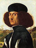Portrait of a Venetian Nobleman, c.1510, carpaccio
