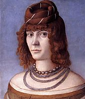 Portrait of a Woman, 1498, carpaccio