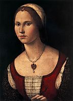 Portrait of a Young Woman, carpaccio