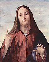 Salvator Mundi, c.1520, carpaccio