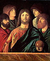 Saviour blesses the four apostles, c.1480, carpaccio