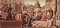 St. George Baptising the Gentile, 1507, carpaccio
