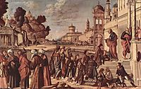 St. Stephen is Consecrated Deacon, c.1514, carpaccio