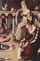 Two Venetian Ladies, c.1490, carpaccio