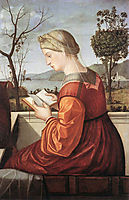 The Virgin Reading, 1510, carpaccio