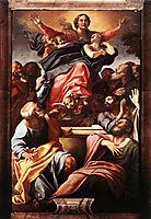 Assumption of the Virgin Mary, 1601, carracci