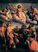 Christ in Glory, 1598, carracci