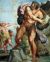 The Cyclops Polyphemus, 1605, carracci