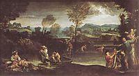 The fishing, c.1596, carracci