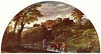 The Flight into Egypt, c.1603, carracci