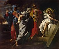Holy Women at Christ- s Tomb, c.1590, carracci