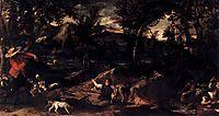 Hunting, 1588, carracci