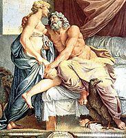 Jupiter and Juno, carracci
