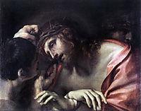 Mocking of Christ, c.1596, carracci