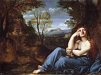 The Penitent Magdalen in a Landscape, c.1598, carracci