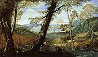 River Landscape, 1590, carracci