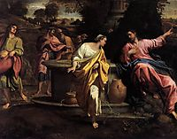 The Samaritan Woman at the Well, carracci