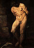 Samson imprisoned, c.1595, carracci