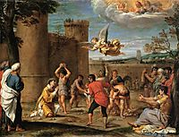 The Stoning of St Stephen, 1604, carracci