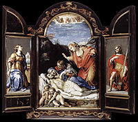 Triptych, 1605, carracci