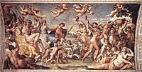 Triumph of Bacchus and Ariadne, 1602, carracci