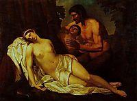 Venus inebriated by a Satyr (La Nuda), carracci