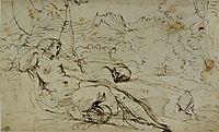 Penitent Magdalene, carracciagostino