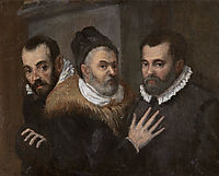 Portrait of Annibale, Ludovico and Agostino Carracci, carracciagostino