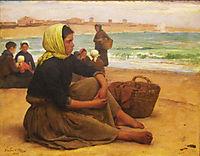 A Apanha do sargaço, 1884, carvalho