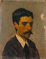 Auto-retrato, 1873, carvalho