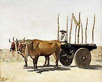 Carro de bois, carvalho