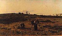 Charneca de Belas ao Pôr-do-Sol, 1879, carvalho