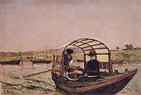 No Areinho, Douro, 1880, carvalho