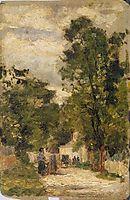 Rua de Barbizon, 1879, carvalho