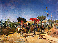 Volta do mercado, 1886, carvalho