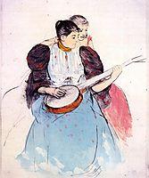 The Banjo Lesson, 1893, cassatt