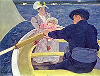 The Boating Party, 1894, cassatt