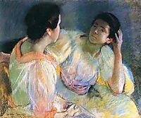 The Conversation, 1896, cassatt