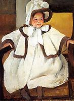 Ellen Mary Cassatt In A White Coat, 1896, cassatt