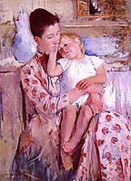 Emmie and Her Child, 1889, cassatt