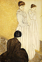 The Fitting, 1891, cassatt