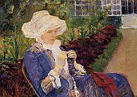 The Garden, 1880, cassatt