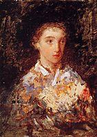 Head of a Young Girl, 1876, cassatt