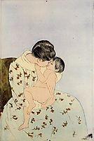 The Kiss, 1890-1891, cassatt