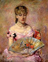 Lady with a Fan, 1880, cassatt