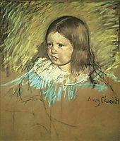 Margaret Milligan Sloan, 1893, cassatt